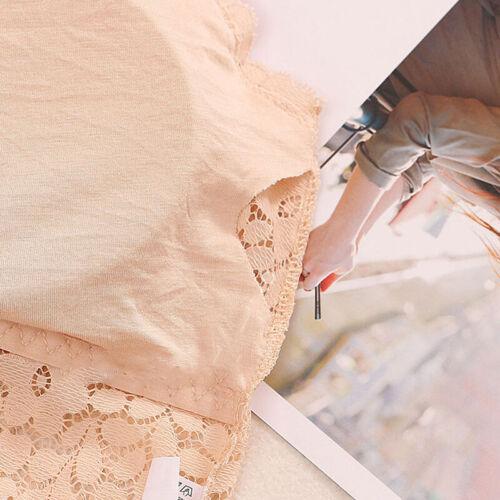 Women Lace Floral Padded Bralette Bralet Bra Bustier Long Crop Top Cami  YM6K