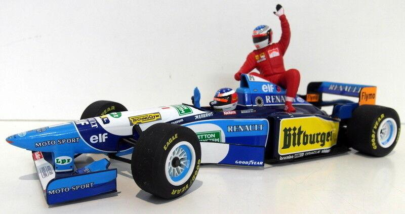 Minichamps 1 18 scale 181 952701 M. Schumacher taxi Jean Alesi 1st victory 95
