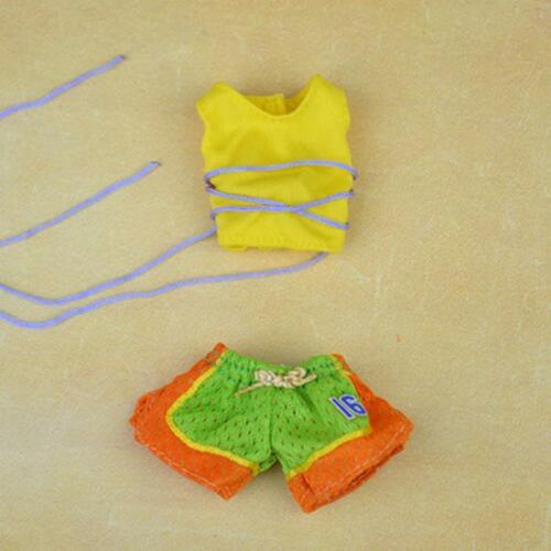 Handmade Swimwear Beach Bikini Bathing Swimsuit Outfits for 1//6 Dolls Clothes