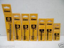 DT50050 Impact Titanium Drill Bit Sets 10pce 3 mm à 12 mm