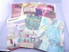 Lot of 6 Book TIGER & BUNNY SOFT YAOI Doujinshi Barnaby x Kotetsu from Japan F/S