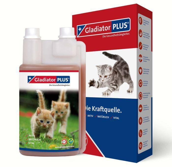 Gladiator Plus Katze 1 Liter für Immunsystem Gesundheit Nährstoffe (  1l)