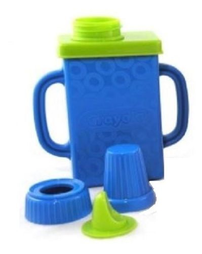 CRAYOLA Juice Box Color Covers Sipper Lid Buddies Holds Standard Choice of Color