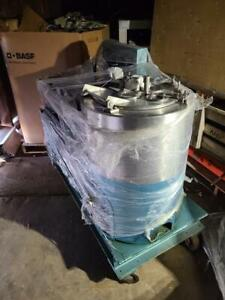 Sharples 14x6 Mark 3 Basket Centrifuge with hydraulic drive system Canada Preview