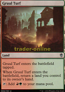 Commander 2016 Magic Gruulgrund 2x Gruul Turf