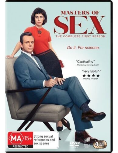 1 of 1 - Masters Of Sex : Season 1 (DVD, 2014, 4-Disc Set)