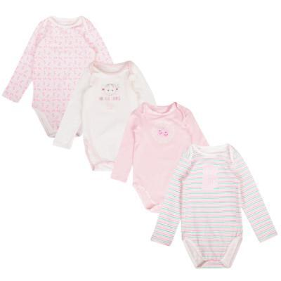UK Brand Baby Bodysuits with Short Sleeves Baby Vests 100/% Cotton 3 Pack Popper Fastening