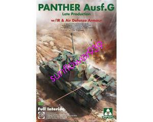 TAKOM-2121-1-35-PANTHER-AUSF-G-LATE-W-IR-amp-AD-ARMOUR-FULL-INTERIOR-KIT-BNIB