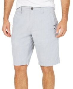 INC-NEW-Pale-Waters-Blue-Mens-Size-40-Grommet-Stretch-Flat-Front-Shorts-49-339