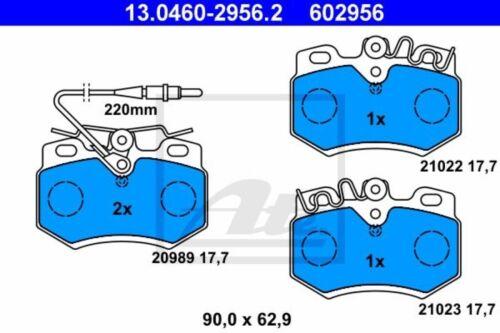 B-Ware //// ATE 4x PASTIGLIE Pinza Freno Set Anteriore per Peugeot 205 1 2 309 2