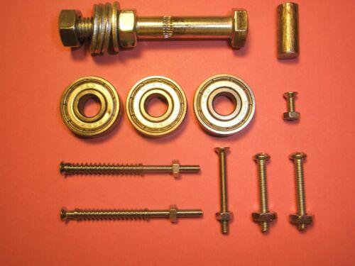 for 3D Printers Wade//Greg Reprap Extruder Parts Hobbed bolt, bearings, etc.