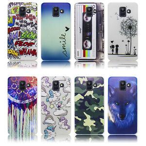 Samsung-Galaxy-A6-2018-Huelle-Silikon-Smartphone-Handy-Huelle-Schutz-Huelle-Case