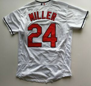super popular a2989 88b4e Details about Andrew Miller #24 Cleveland Indians Jersey Men Size XL Free  Shipping.