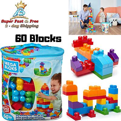 Plastic Building Lego Blocks Big Mega Bricks Toddler Kids Puzzle Educational Toy