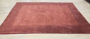 Hand Tufted Wool Rug 8 X 10 Brand New Made In India Ebay