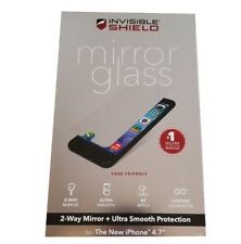 Zagg Invisibleshield Mirror Glass Screen Protector For Apple Iphone