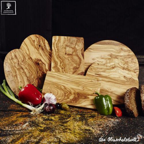 Handarbeit Küchenbrett Essbrett Holz Servierbrett Schneidebrett Olivenholz