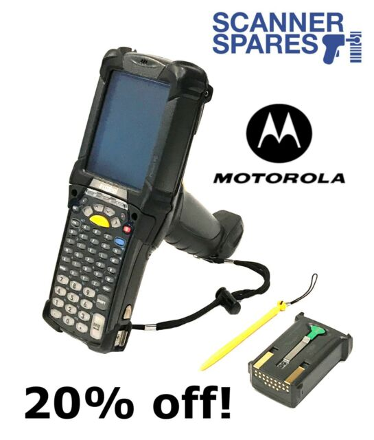 Symbol Motorola MC92N0-G30SXERA5WR 1D 2D Imager Windows Mobile 6 5 Barcode  Zebra