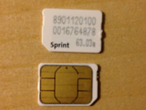 Sim Card For Sprint Iphone  Plus