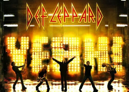 02 24 inch by 36 inch 80/'s Vintage Eighties Art Photo Poster DEF LEPPARD