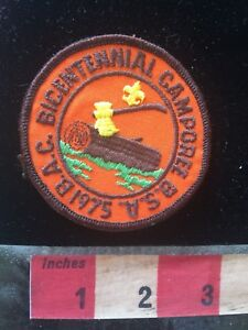 Vtg-1975-BICENTENNIAL-CAMPOREE-BSA-Boy-Scouts-Patch-70ZZ