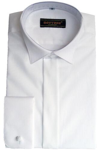 Größe 44 mit Käppchen Kragen weiß Beytnur Smoking Hemd