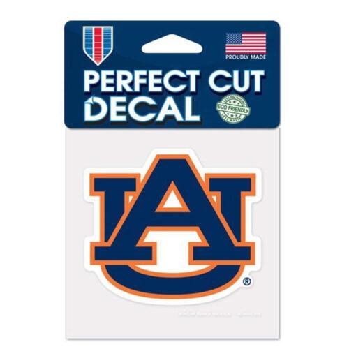 Auburn Tigers 4x4 Perfect Cut Decal Sticker Car Truck Auto FAST SHIP