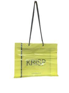 """100 x Brown Kraft Paper Misprinted Takeaway Carrier Bags 10/"""" x 11.75/"""" x 5.5/"""""""