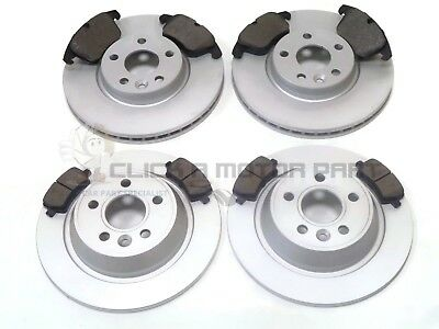 FORD S-MAX FRONT AND REAR BRAKE DISCS /& PADS ELECTRIC HANDBRAKE