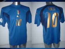Italy Italia Shirt Puma Adult Large TOTTI Soccer Football Jersey Vintage 4* Roma