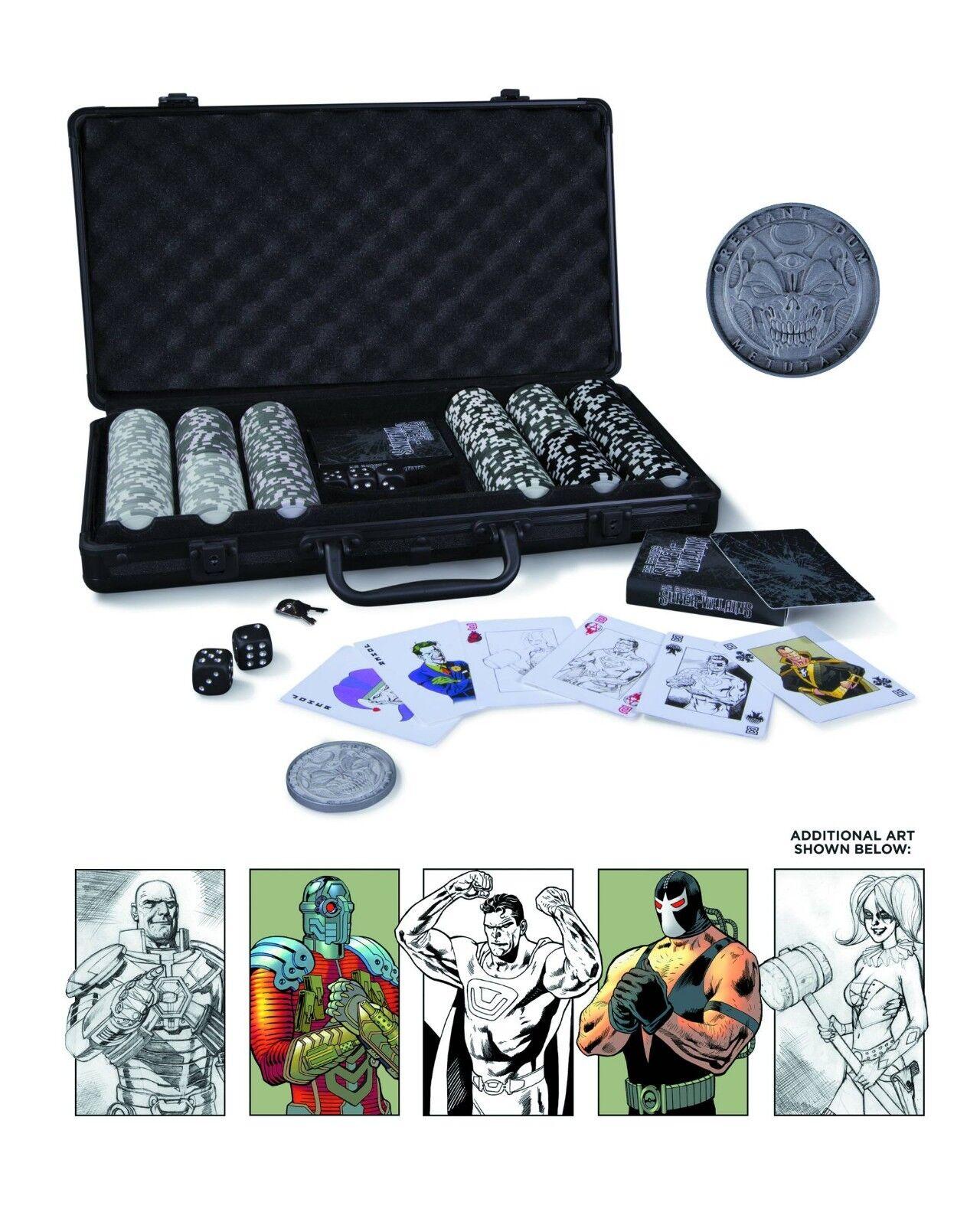 DC Comics Super Villains Poker Set