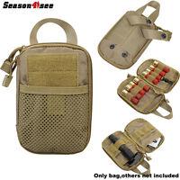 1000d Tactical Airsoft Edc Tool Accessary Pouch Bag Shotgun Waist Case Hunting