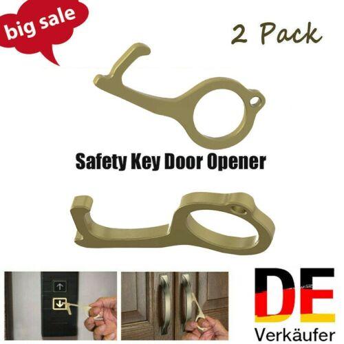 Kontaktloser Sicherheits Türöffner Sicherheit Schutz Messingschlüssel Türöffner