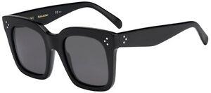 a1261b34fc4f Céline Celine TILDA CL 41076/S black/dark grey (807/BN) Sunglasses ...