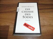 Simon Beckett -- Die CHEMIE des TODES / ein David Hunter-Psychothriller