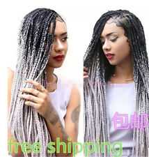 Synthetic Brazilian  African twist braid hair for Black Woman extension braids