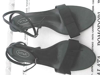 Schuh Damas Negras Tacón Alto Talla 4