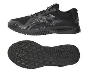 new product deda1 8a00f La foto se está cargando Zapatos-De-Entrenamiento-Adidas-Hombres-aerobounce -RACER-Negro-