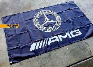 Mercedes-Benz AMG Flag 3x5 ft Banner