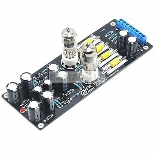 Details about 1pc 6J1 Valve Pre-amp Tube PreAmplifier Kit Assembled Board  Audio DIY