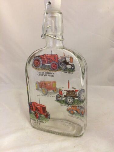 David Brown 6 différents tracteurs sur 500 ml Sloe Gin//préserver Flip Top bouteilles