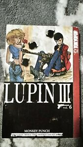 Lupin-III-the-3rd-Volume-6-Manga-Grapchic-Novel-Book-in-English