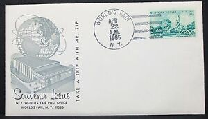 US-World-039-s-Fair-Souvenir-Issue-Cover-Ny-Special-Event-Program-USA-Letter-Y-505