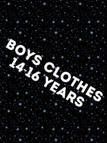 Boys Clothes Make Your Own Bundle Size 14-16 y Short Coat Jeans Leggings T-Shirt