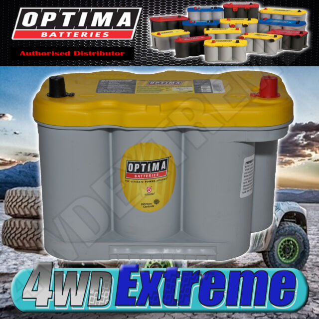 Optima Yellow Top D27f 12v Deep Cycle Battery