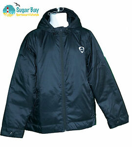 New NIKE Tiempo Thermore Mens Light Insulated Hoodie Jacket Black M ... 839060e419b0