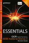 OCR 21st Century Additional Science A: Revision Guide by Neil Dixon, Trevor Baker, Robert Woodcock (Paperback, 2011)
