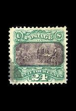 Incorniciato stampa-dichiarazione di indipendenza 24 centesimi TIMBRO 1869 valutate a $275.000