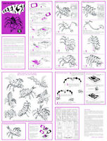 Eeeeks Instruction Sheet For A Mattel Thingmaker (creepy Crawlers)