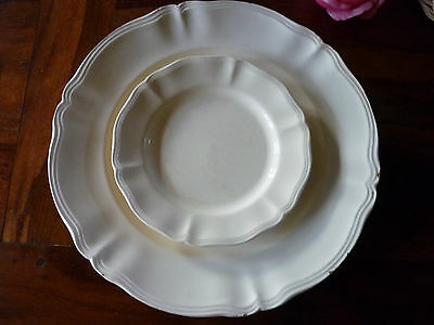 SARREGUEMINES GRAND PLAT+ ASSIETTE